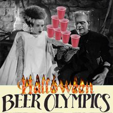 Liq-or-Treat! It's HALLOWEEN at the SF BEER OLYMPICS! Friday!