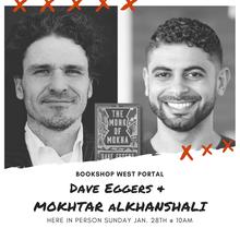 Coffee & Books-Dave Eggers & Mokhtar Alkhanshali Bookmobile
