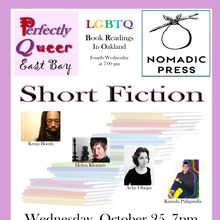 "Perfectly Queer East Bay Reading ""Short Fiction"""