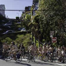 9th Annual Earth Day World Naked Bike Ride - San Francisco