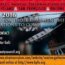 Indigenous Peoples Thanksgiving Sunrise Gathering