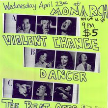 Violent Changes, Dancer, The Beat-Offs