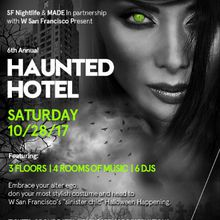 Haunted Hotel | W San Francisco Halloween
