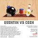 "An Art Show Tribute- ""Quentin vs. Coen"""