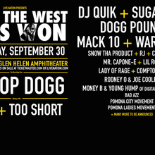 How The West Won Featuring Ice Cube, Bone Thugs-N-Harmony, Too Short, Warren G, Tha Dogg Pound