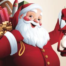 Free Photos with Santa Claus at the Japan Center Malls