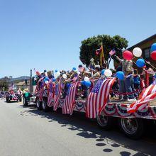 47th Ol' Fashioned 4th of July Parade, Half Moon Bay