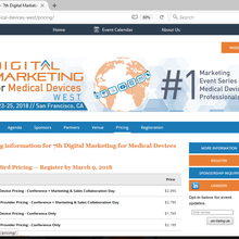 7th Annual Digital Marketing for Medical Devices West (exl) S