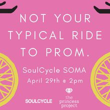 SoulCycle Charity Ride for The Princess Project