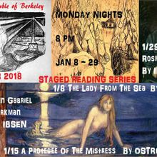 Rosmersholm, by Henrik Ibsen - a Staged Reading