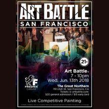 Art Battle San Francisco