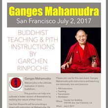 FREE 1 Day Buddhist Meditation Retreat & Teaching on Ganges Mahamudra by HE