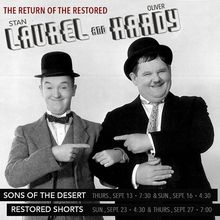 The Return of the Restored: Laurel and Hardy