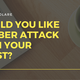 Would You Like a Cyberattack With Your Toast? (with Cloudflare)