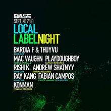 BASE: Local Label Night
