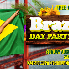 BRAZILIAN DAY PARTY IN THE MARINA
