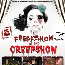 FREAKSHOW at the CREEPSHOW
