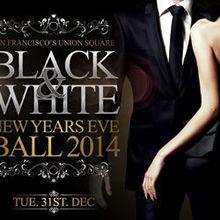 Black & White New Years Eve Ball 2014