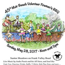 The 45th Annual Muir Beach Volunteer Firemen's Barbecue