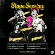 Stage Session Vol. 1 with Nafla, Loopy, Mommy Son, Nucksal, Deepflow