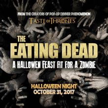 WALKING DEAD l 'Pop-Up' Dinner l A Halloween Feast fit for a Zombie!