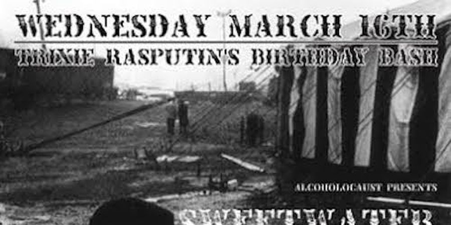 Alcoholocaust Presents The Mud Lords At El Rio Featuring