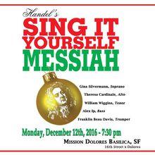 Handel's Sing it Yourself! Messiah
