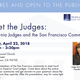 Meet the Judges: California Judges and the San Francisco Community