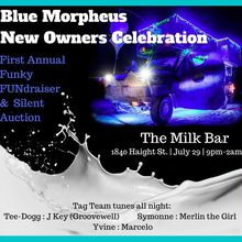 Blue Morpheus New Owners' Celebration: The First Annual Funky FUNdraiser