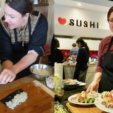 """Cooking Class: """"I want to make Sushi with grown-ups!"""""""