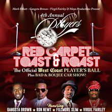 PLAYERS 4 Annual Red Carpet Toast & Roast