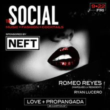 The Social at Love + Propaganda w/ ROMEO REYES (Marquee LV)