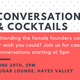 Female Founders Conference, conversations and cocktails