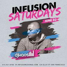 DJ Kaos at #InfusionSat