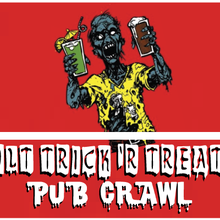 San Francisco Halloween: Adult Trick 'r Treating Pub Crawl