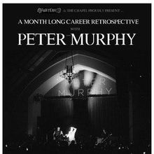 "Peter Murphy performs ""Holy Smoke"" in its entirety at The Chapel"
