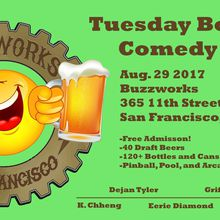 Tuesday Boozeday-Free Comedy Show