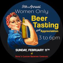 Womens Only Beer Tasting & Appreciation