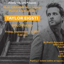 Taylor Eigsti - Benefit Jazz Concert for Haiti