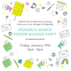 WOMEN'S MARCH POSTER-MAKING PARTY with Hello Lucky!