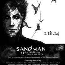 Sandman 25th Anniversary Group Art Show