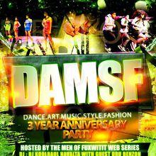 DAMSF (dance.art.music.style.fashion) 3 Year Anniversary Party Feat Ellen Kim & Ellona Santigo