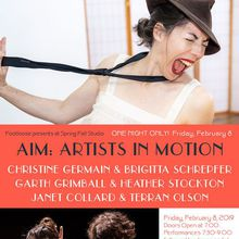 AIM: Artists in Motion at Spring Fall Studio
