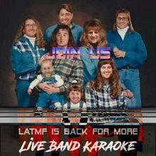 Live Band Karaoke!