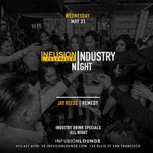Jay Reese & Remedy at #IndustryNight