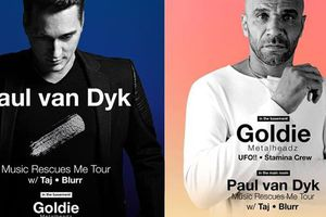 Paul Van Dyk, Goldie