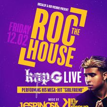 "KAP G perfoming ""Girlfriend"" LIVE @TheRocSF w/ J.ESPINOSA in the mix!"