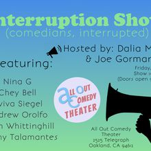 Interruption Show - comedians, interrupted