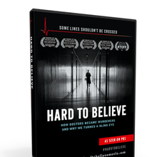 Documentary Hard to Believe, with guest David Kilgour (Nobel Prize nominee)