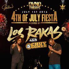 LOS RAKAS X CHUY GOMEZ - DVNO FRIDAYS